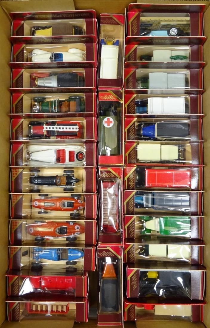 Twenty-eight Matchbox Models of Yesterday including