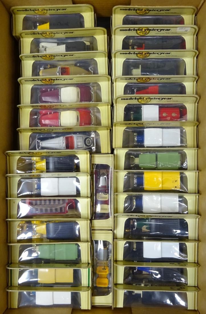 Twenty-eight Matchbox Models of Yesteryear models