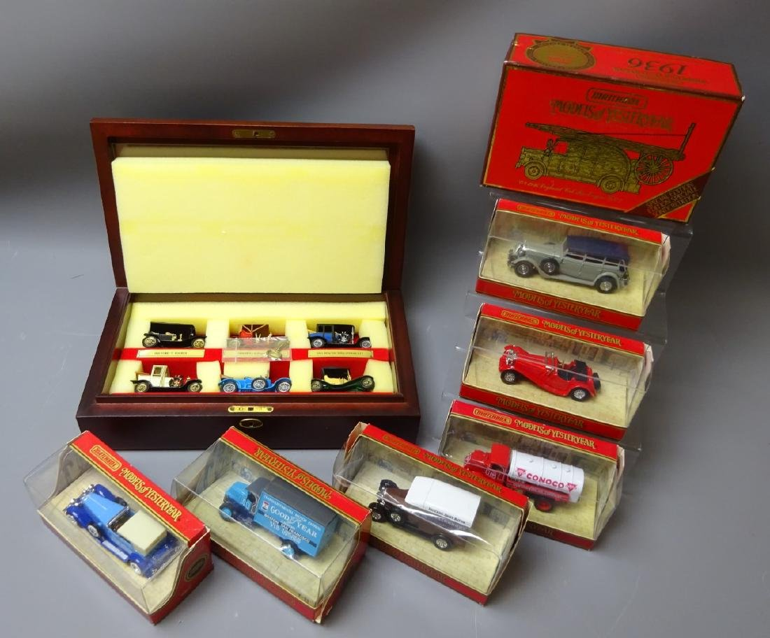 Matchbox limited edition Models of Yesteryear