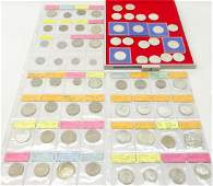 Collection of Polish coinage including twentysix