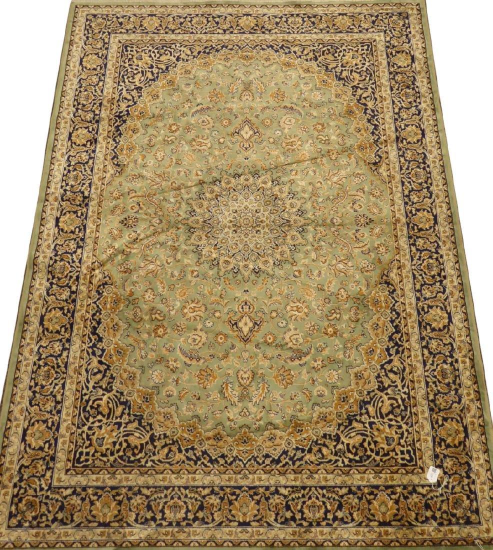 Persian Kashan pattern rug/wall hanging, medallion and