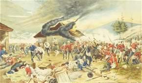 Thomas G. Lees (British 19th century): The Battle of