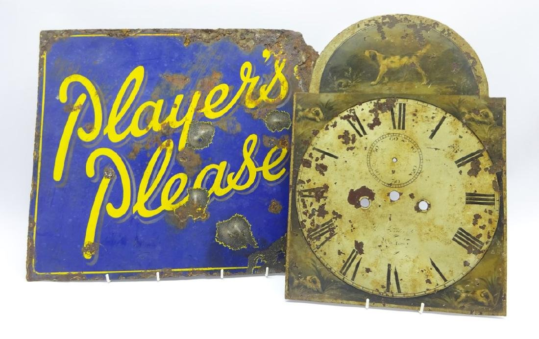 'Players Please' tobacco and cigarette double sided