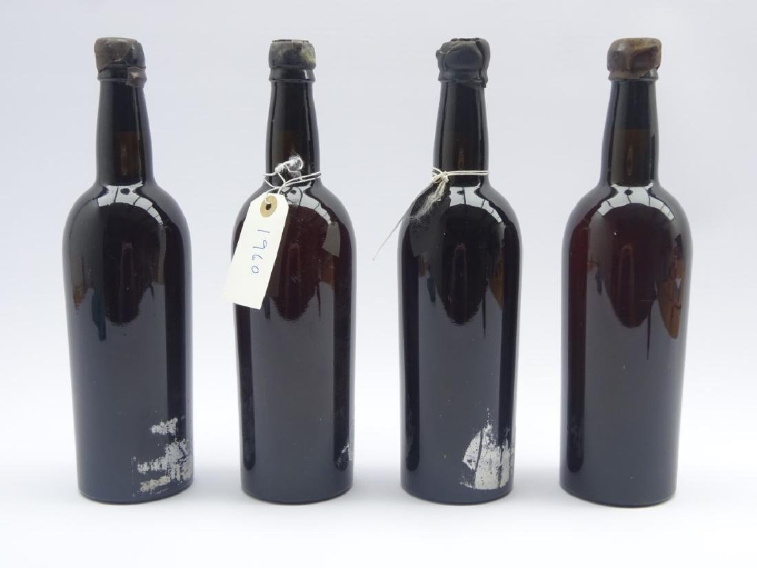 Two bottles vintage 1960s Croft port and two other