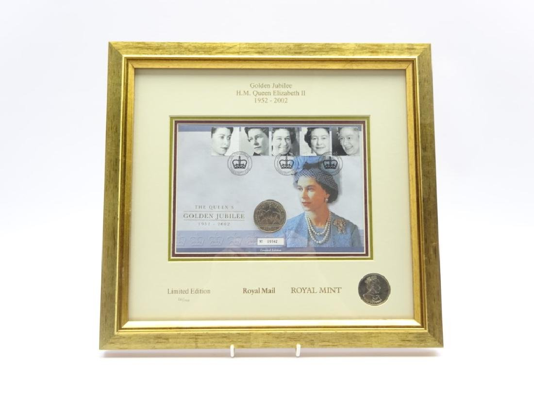 Royal Mail Royal Mint The Queen's Golden Jubilee
