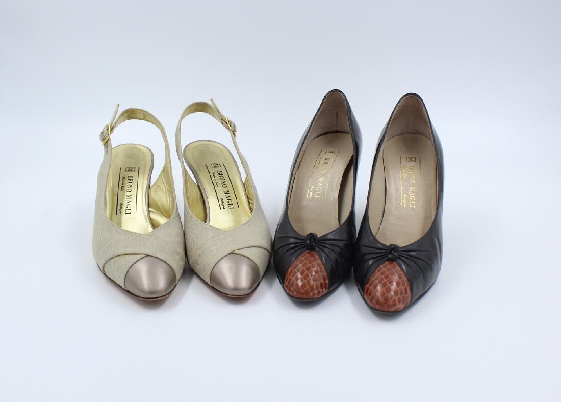 Two Bruno Magli Pump Heels