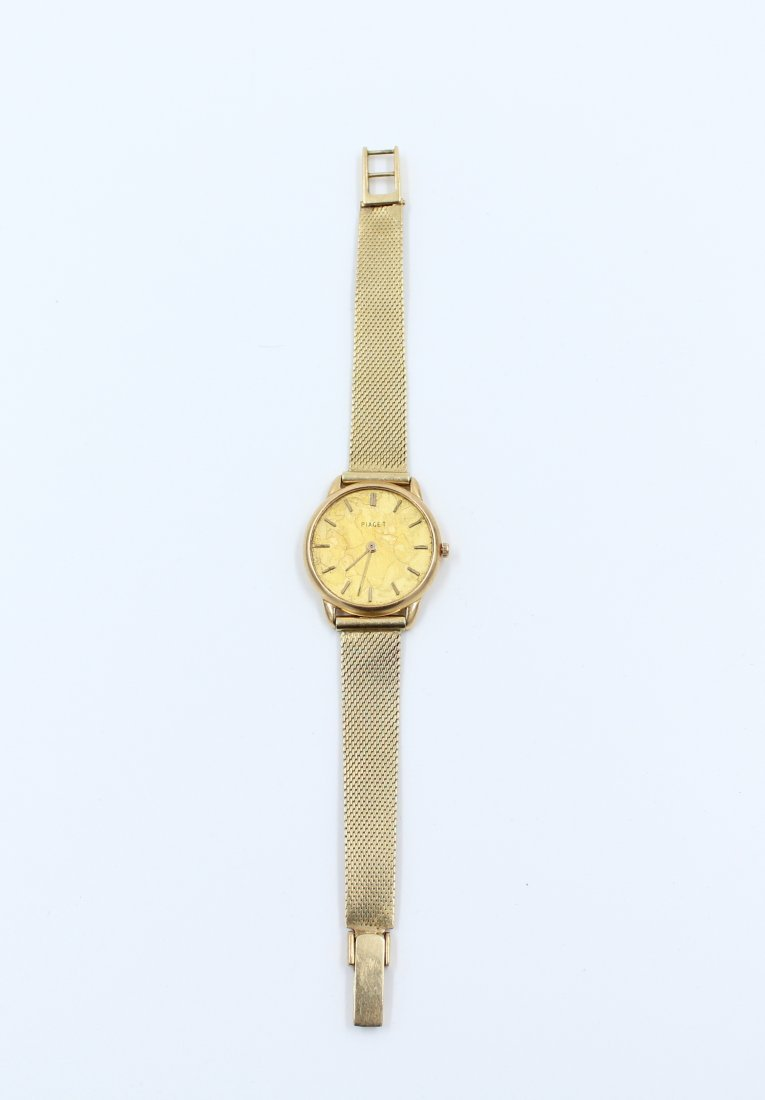 Vintage 18k Gold Piaget Ladies Wrist Watch