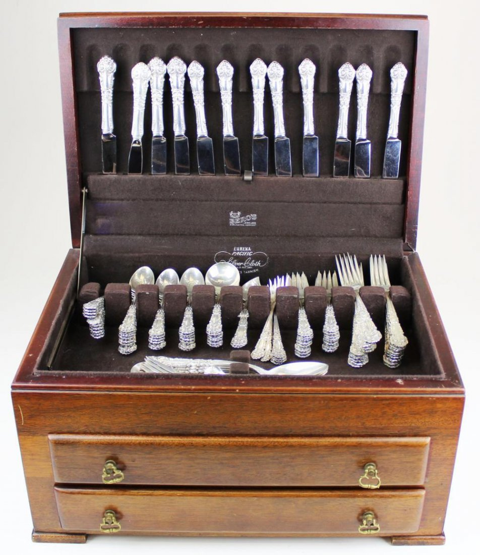 109 pcs. Reed & Barton sterling silver flatware