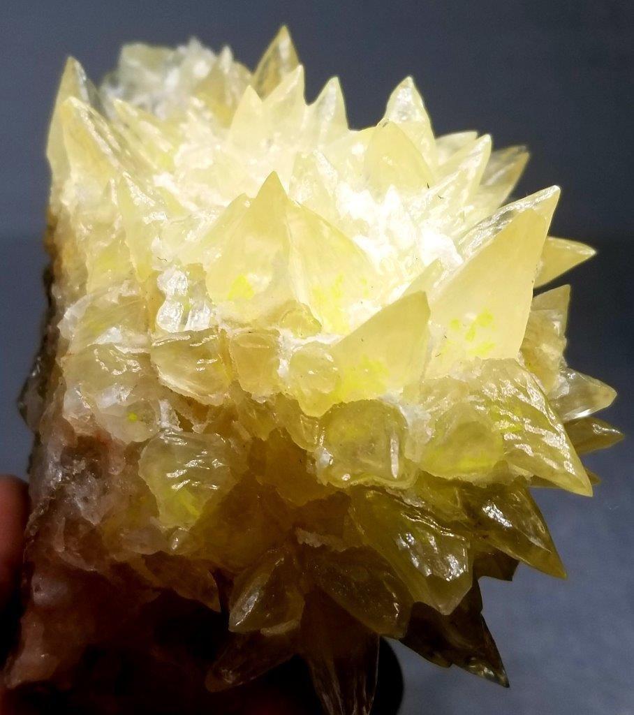 428.7 grams Natural Dog teeth Calcite Mineral