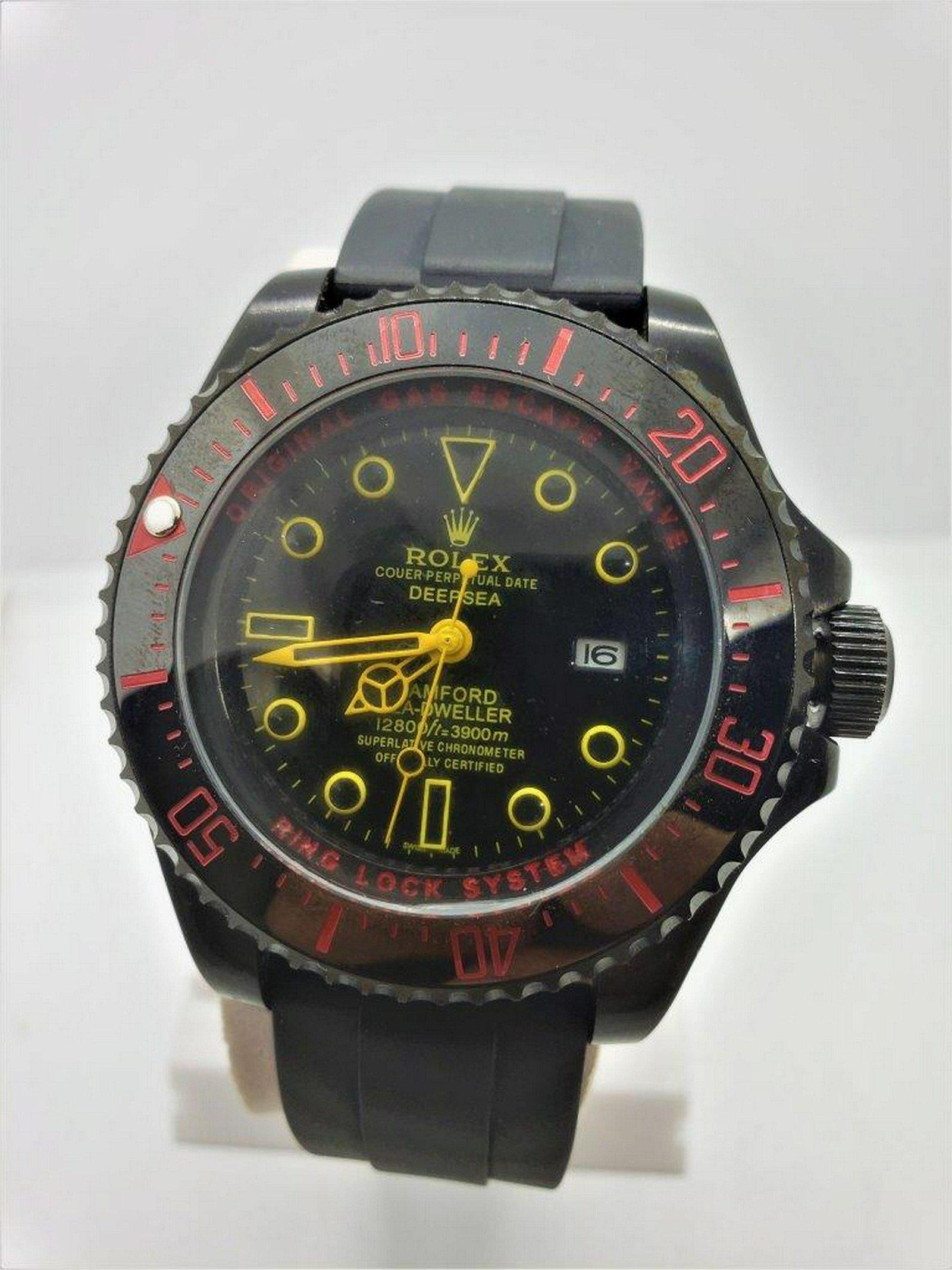 Rolex Perpetual Deep Sea BamFord Sea Dweller Watch for