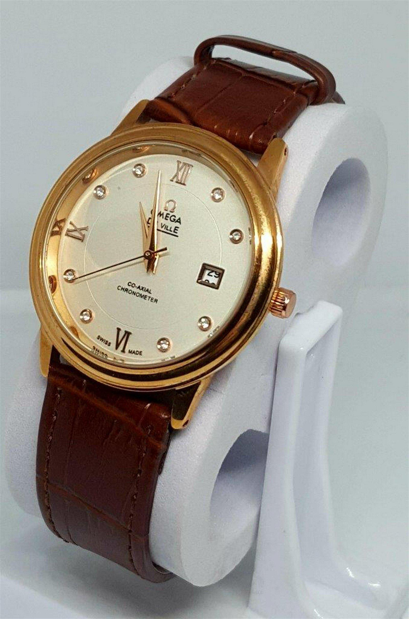 OMEGA De VILLE - Gold Plated Watch