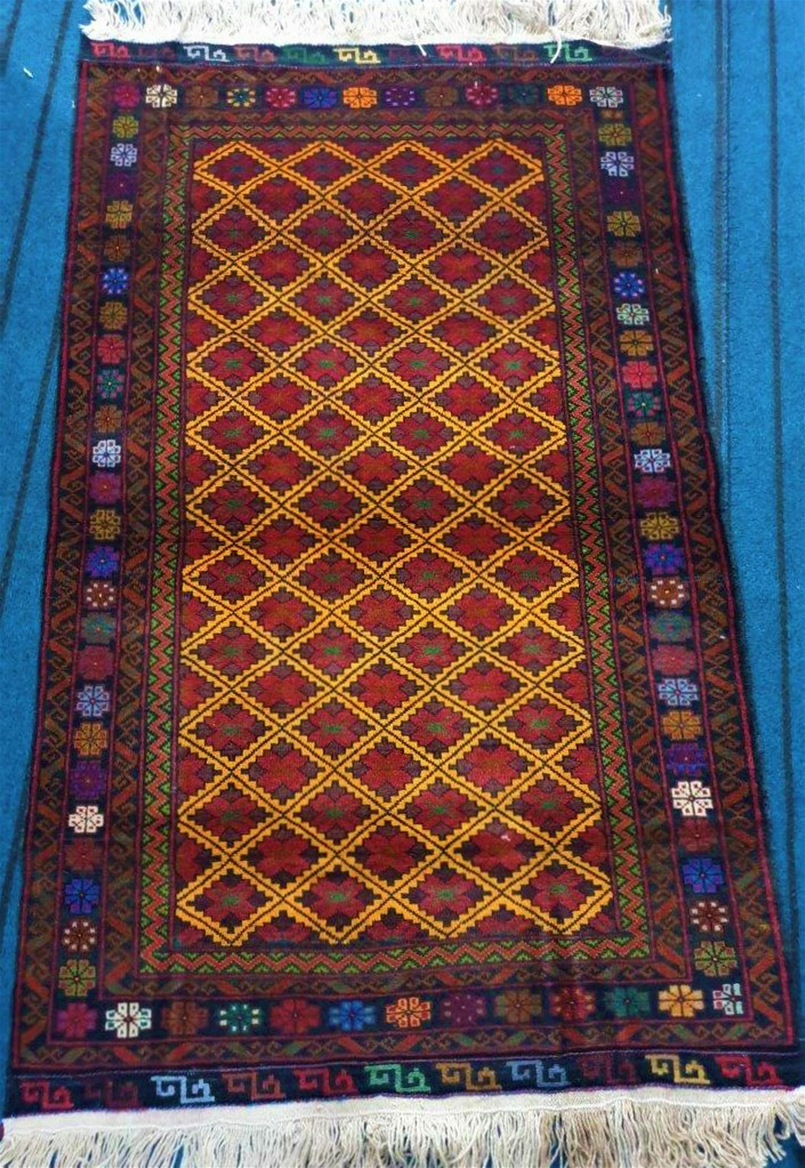 Hand Knotted Balouch Wool Rug