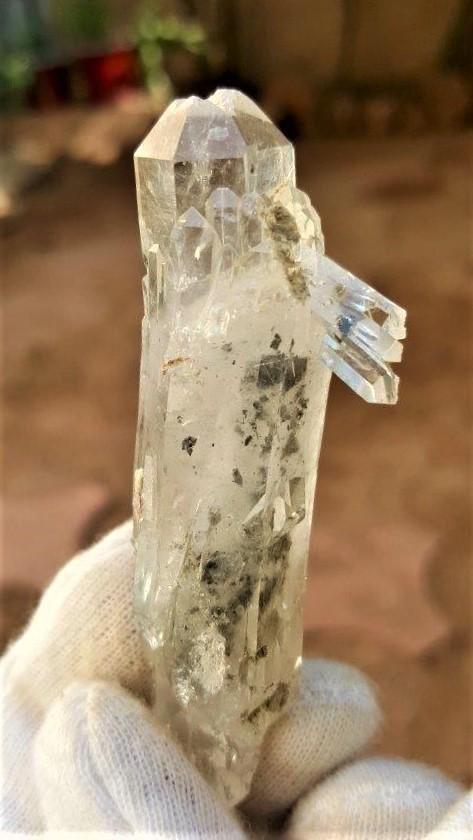34.3 Grams Undamaged Fedan Quartz