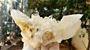 397 Grams Undamaged Fedan Quartz Crystal
