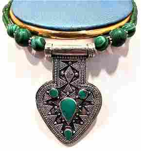 Antique type Silver Gilt Necklace