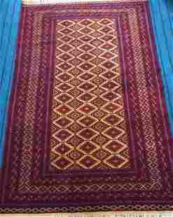 Mazari Handknotted Wool Rug