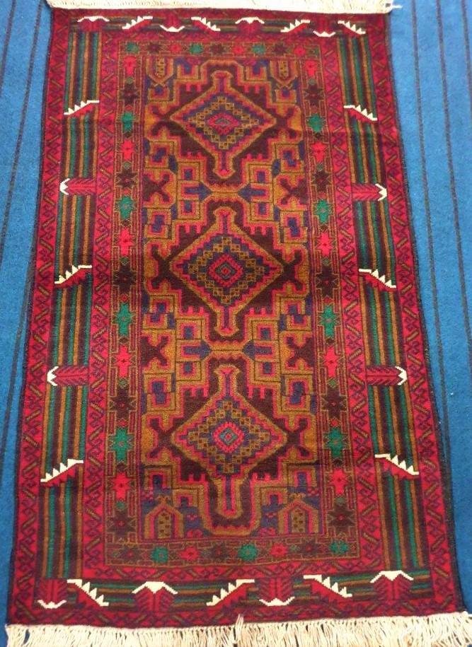 Hand Afghan Khal Mohammadi Wool Rug