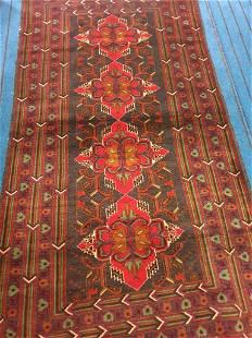 Bukhara Handknotted Afghan Rug