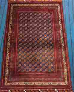 Hand Knotted Afghan Mauri Rug