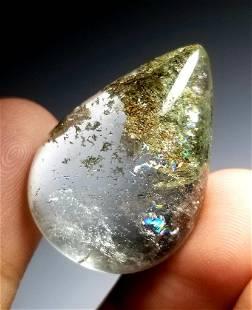 455 Carats Pear shape Quartz with inclusion