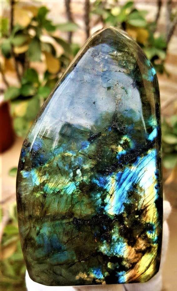 449.5 Grams Colorful Labradorite Healing Tumblr