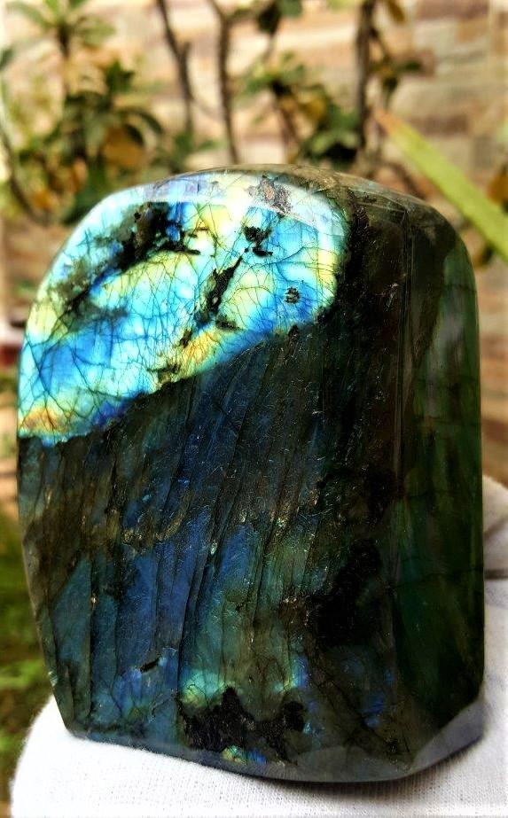 784.5 Grams Colorful Labradorite Healing Tumblr