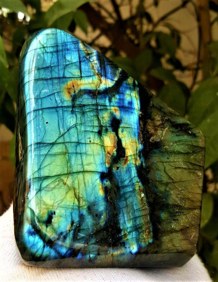 753.6 Grams Colorful Labradorite Healing Tumblr