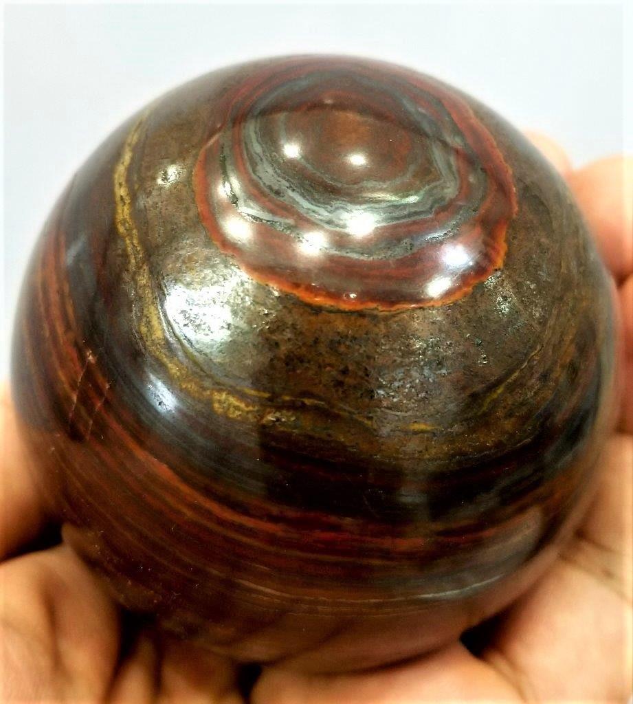 550 Grams Natural Tiger Eye Healing Sphere