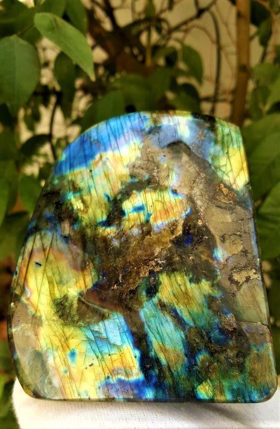 960.5 Grams Colorful Labradorite Healing Tumblr