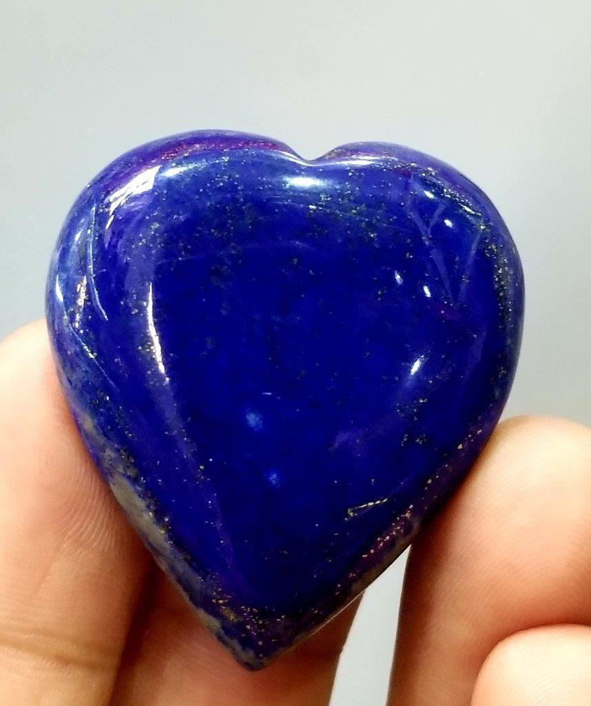 15 grams Hand Carved Natural Lapis Lazuli