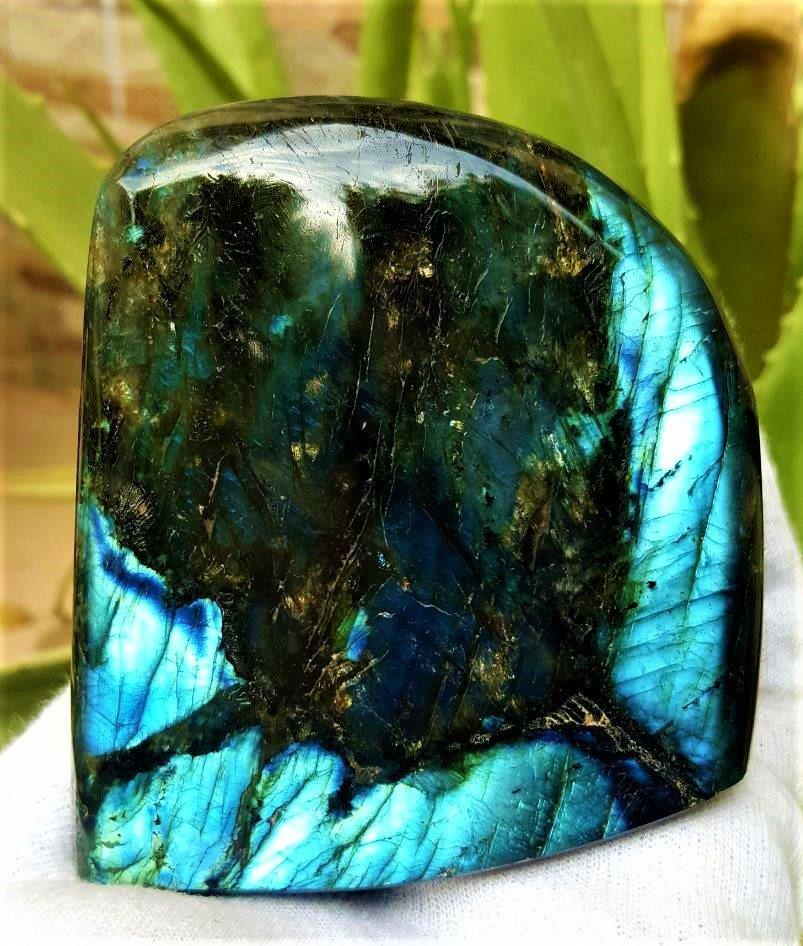 432.8 Grams Colorful Labradorite Healing Tumblr
