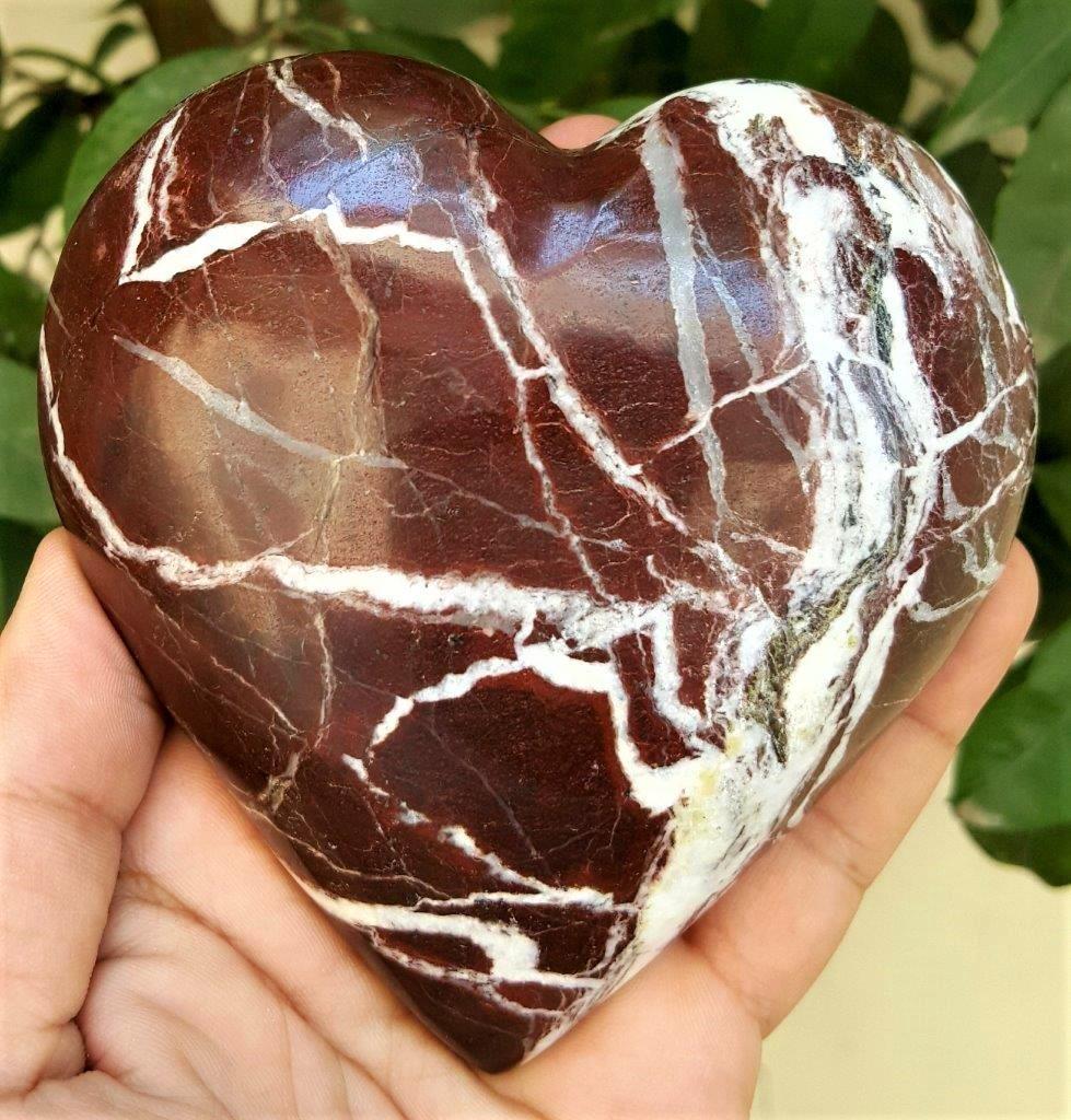 561 Grams Healing Jasper Healing Heart