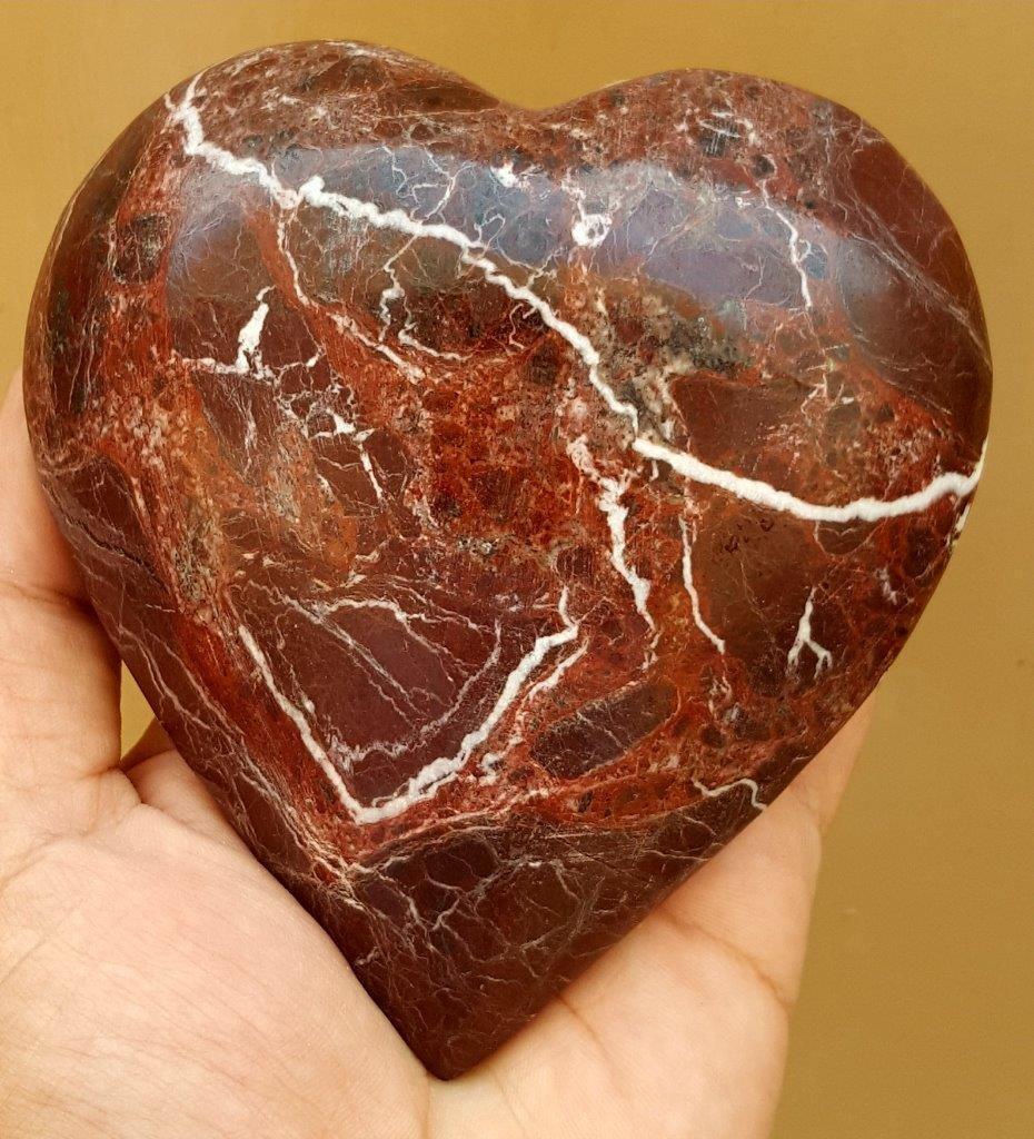 627 Grams Healing Jasper Healing Heart