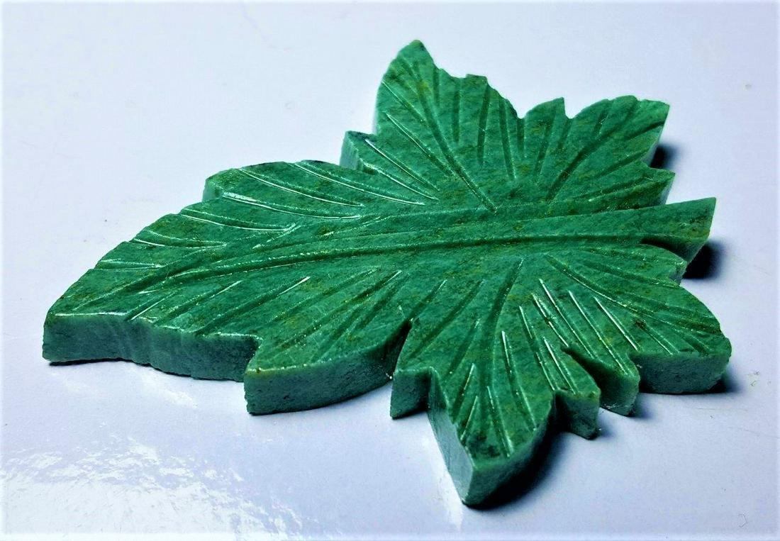 27.2 Gram Natural Aventurine Healing Leaf