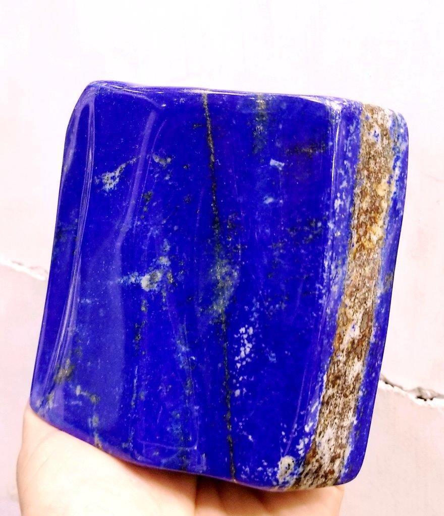 800 Grams Natural Self Standing Lapis Lazuli