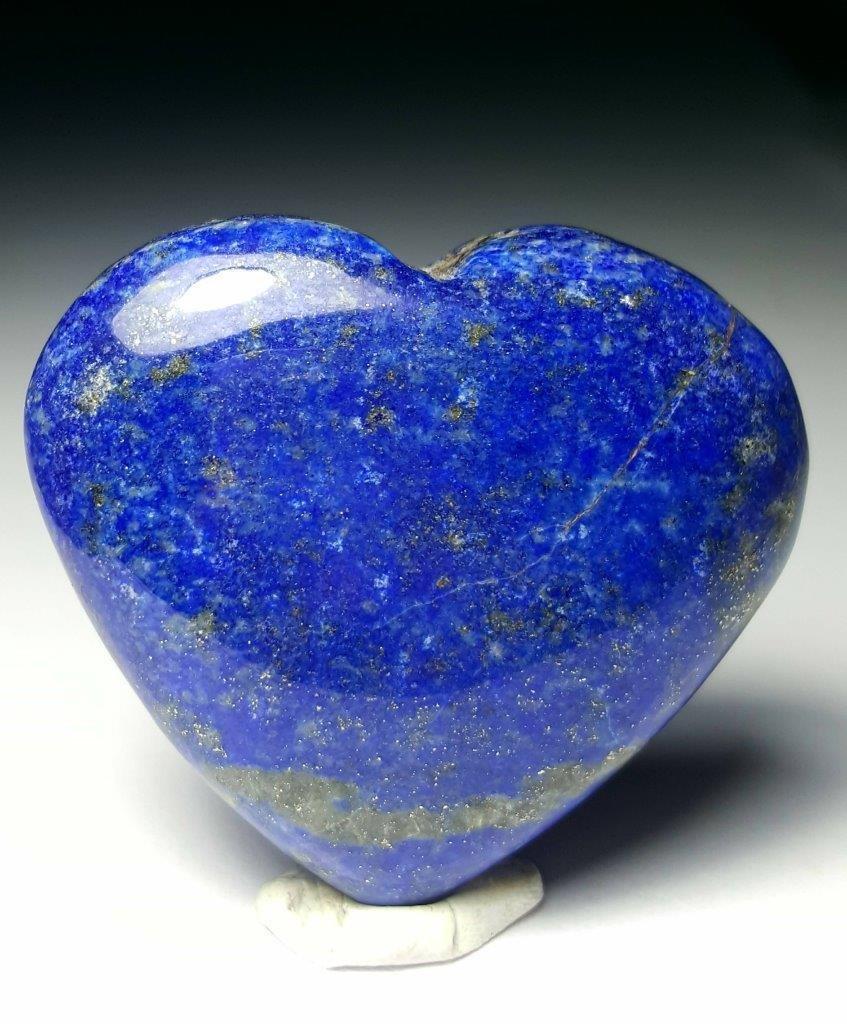 Lapis Lazuli Heart Tumble