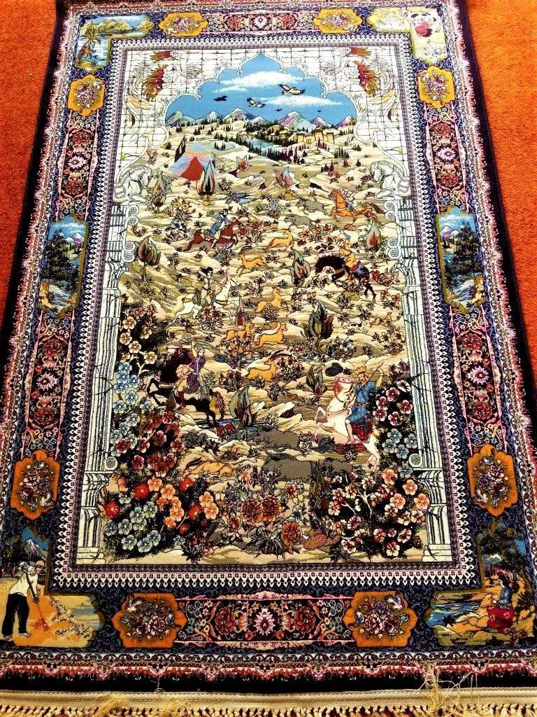 Taftan Village Persian Rug 3'x5'