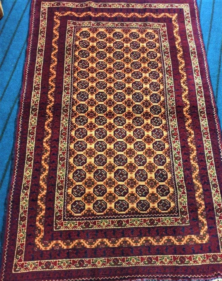 Paghman Woolen Handknotted Afghan Rug