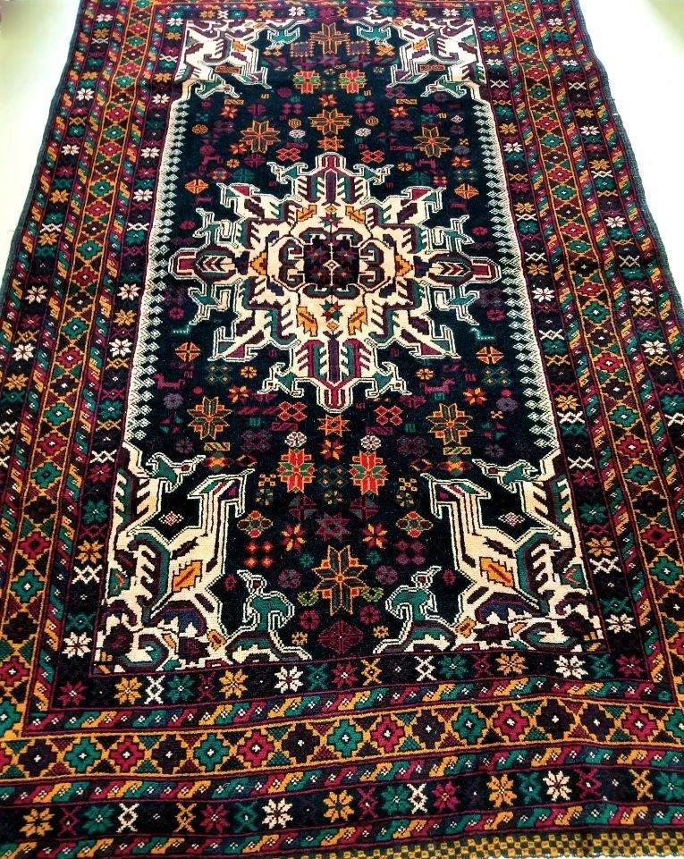 Royal Afghan Handmade Rug