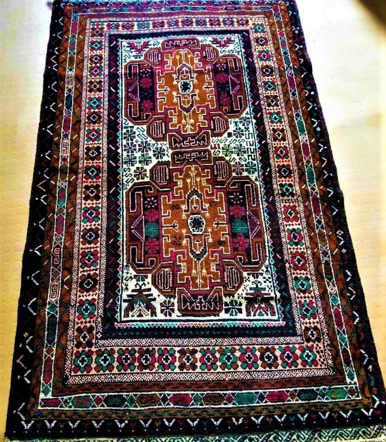 Royal Kirmani Hand Knotted Afghan Rug