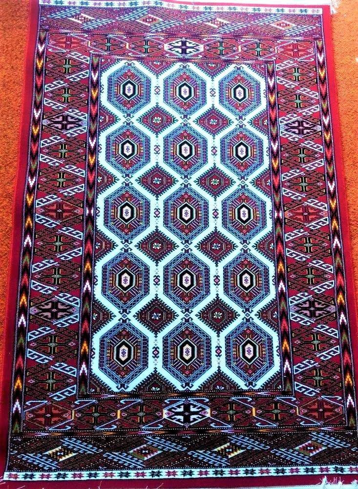 Classic Hijaz Persian Bijar Rug 3'x5'