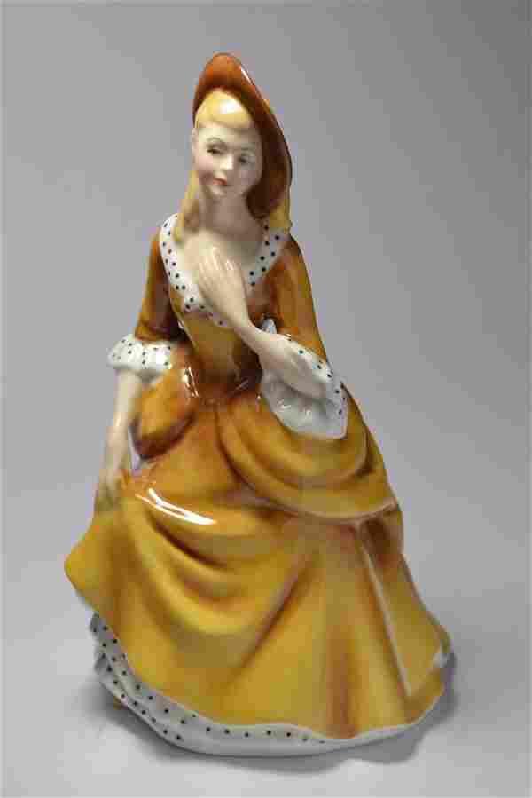 Royal Doulton 'Sandra' HN2275 year 1968 figurine