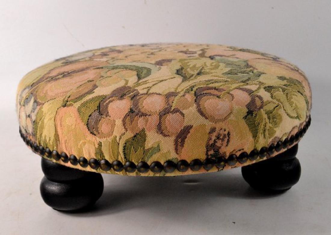 Tapestry upholstered stool - 2