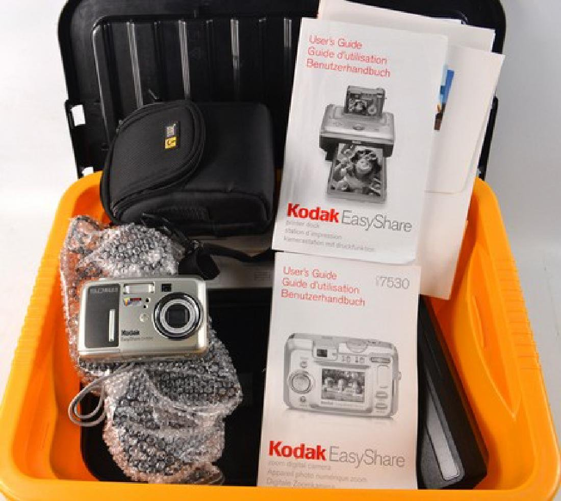 KODAK EASY SHARE digital camera and KODAK EASY SHARE