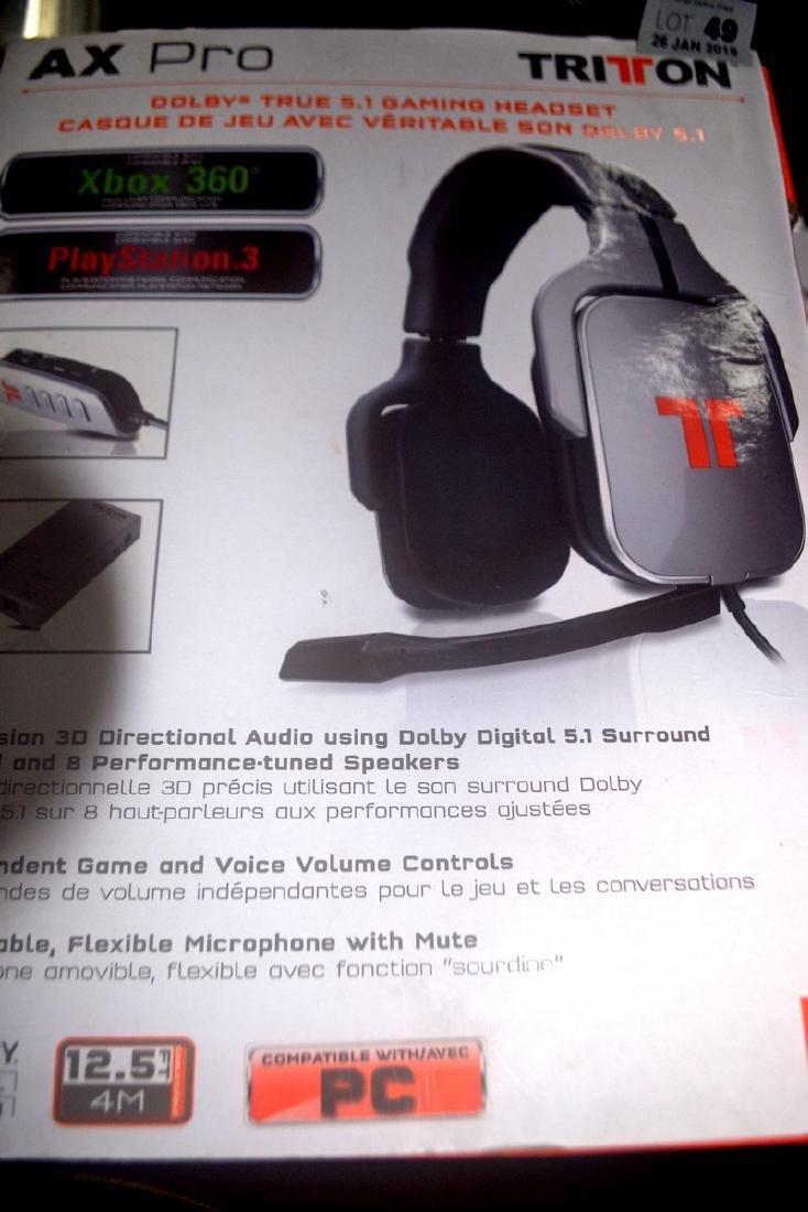 AX PRO gaming head set