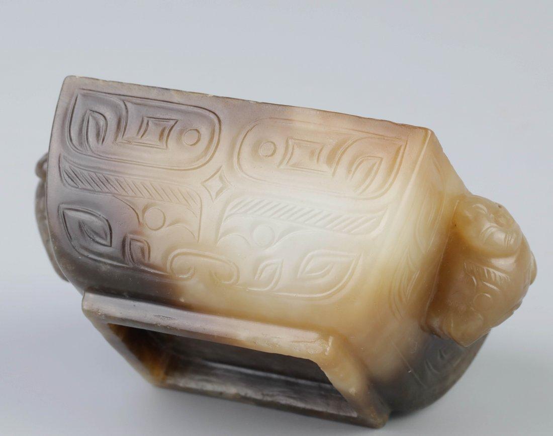 White Jade Brush Washer (Ming Dynasty) - 4