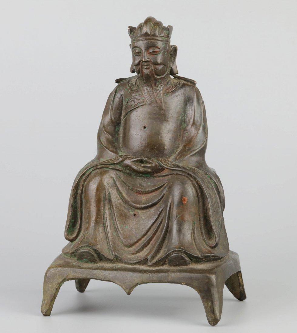 Bronze Immortal Statue (Ming Dynasty)