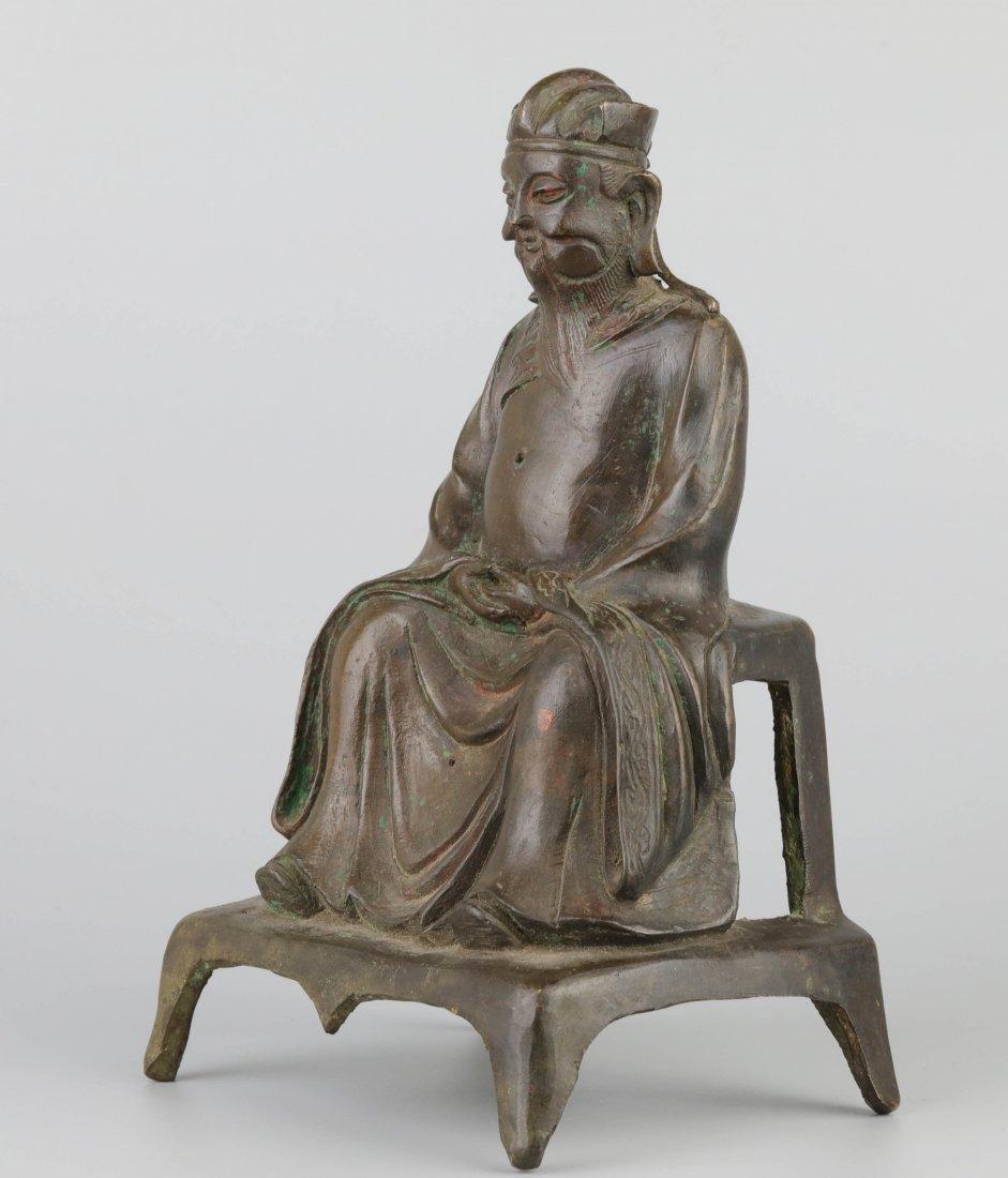 Bronze Immortal Statue (Ming Dynasty) - 2