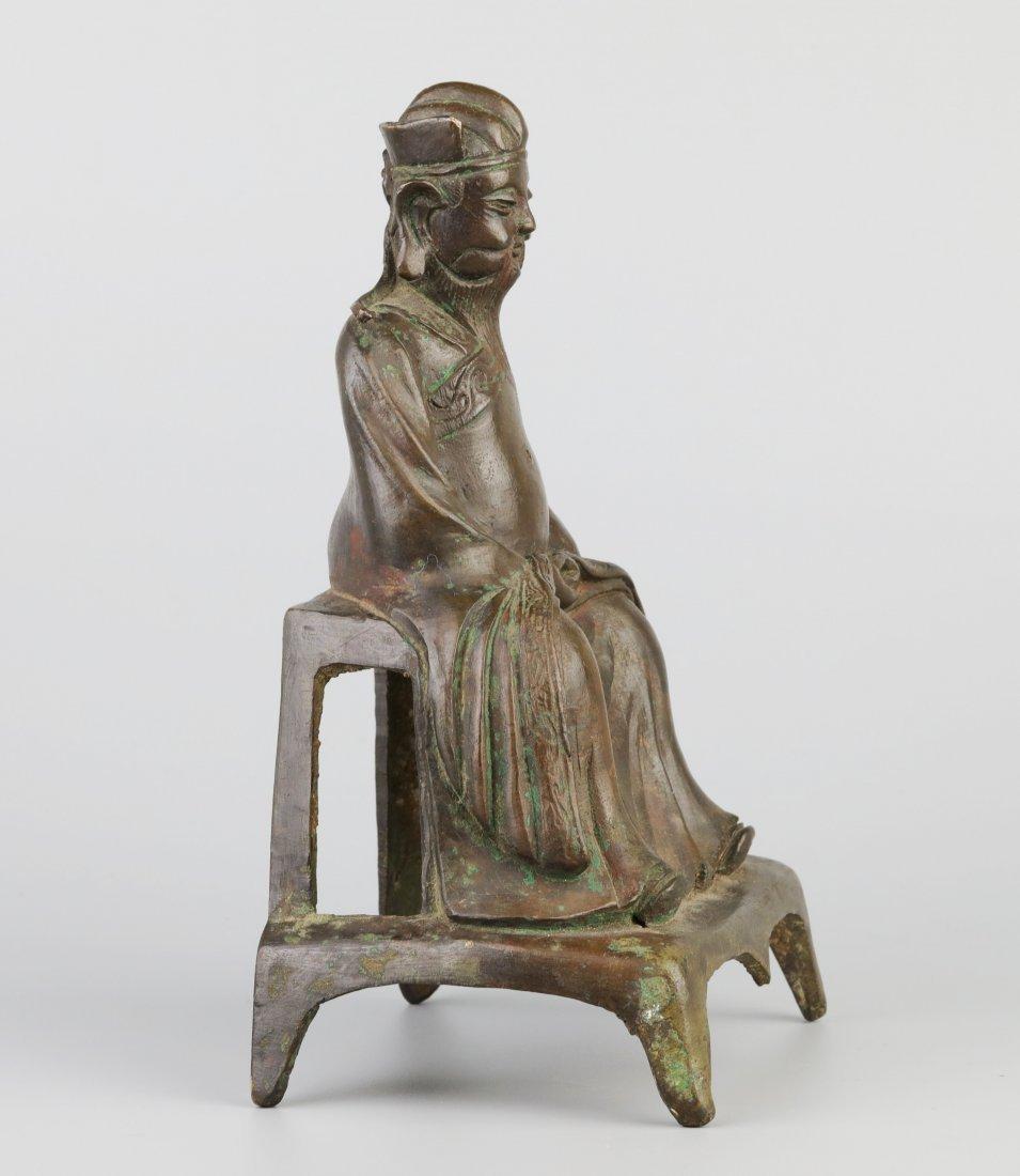 Bronze Immortal Statue (Ming Dynasty) - 3