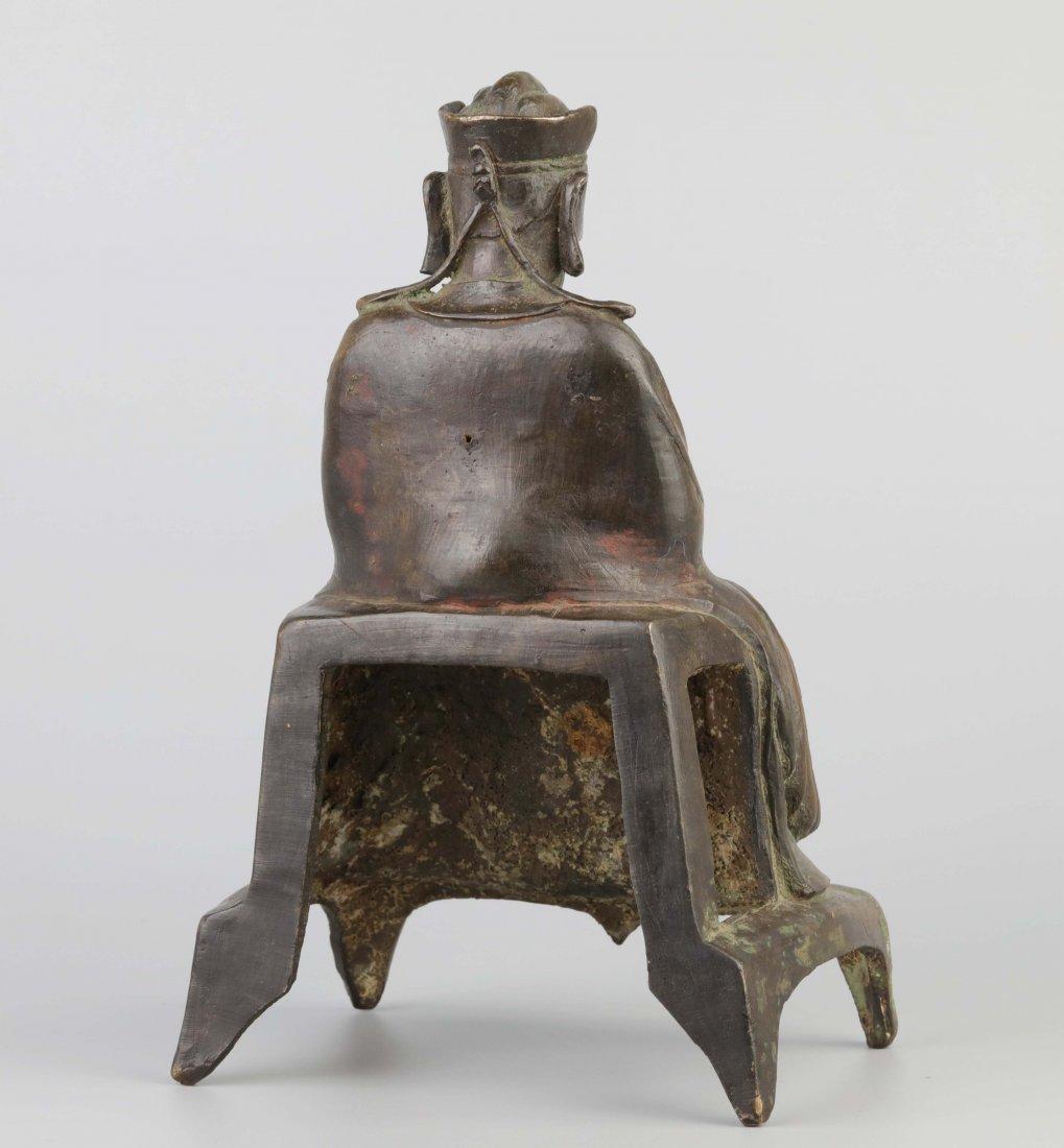 Bronze Immortal Statue (Ming Dynasty) - 4